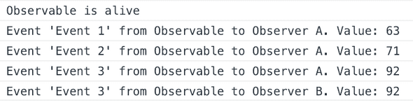 Hot Observable And Two Observers