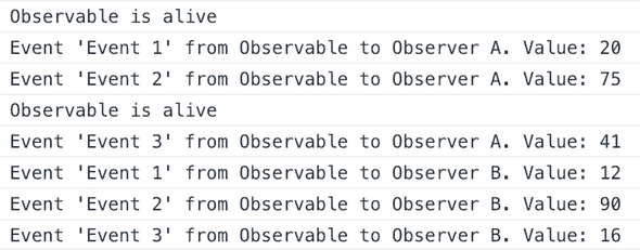 Cold Observable And Two Observers